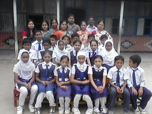 PSC Candidates 2013 with beloved teachers of Children Grance Bilingual Primary School, Begumganj, Noakhali
